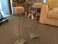 technics speakers with stands