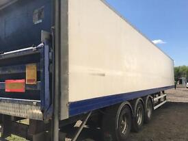 Large box trailers for storage