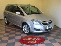 2012 Vauxhall Zafira 1.6 Design, 1 Owner, 27,000 Miles, 7 Seater, As New