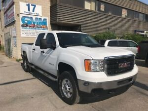 2011 GMC SIERRA 2500HD WT Crew Cab Short Box 4X4 Gas