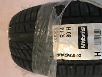 Brand new 185/55 r14 ties. 3 for sale