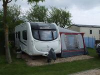 Swift challenger 530SR 4 berth touring caravan