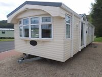 2005 Willerby Lyndhurst static caravan for sale at Chesterfield Country Park in Berwickshire