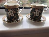 Wedgwood Cup & Saucers x 2