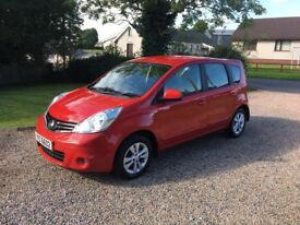 2010 NISSAN NOTE 1.5 DCI ACENTA - SUPER SERVICE HISTORY -