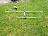 4 metre HB9CV 2-element aerial