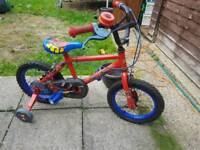 Children Boys Spiderman Bike