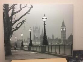 London Scenery Canvas