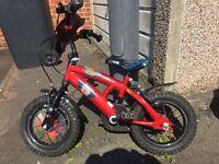 Boys 12in bike £5