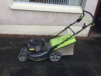 ProGreen Powerful Petrol Lawnmower Used only 3 Times cost £525 sell £250