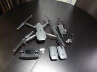 DJI Mavic Pro drone including spares & extras