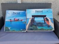 Parrott Bebop Drone and Sky Controller with 6 batteries.