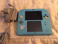 Nintendo 2DS with preloaded Pokemon Sun