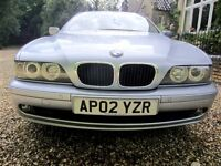 BMW 525i SE Immaculate luxurious car with FSH. Pvte sale. Offers invited