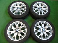 "BMW X1, X3, X5 E70, VW TRANSPORTER T5 18"" ALLOY WHEELS £499"