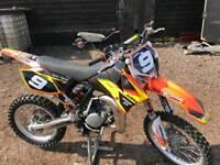 Ktm 85 mx bike