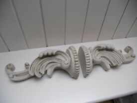 Shabby Chic Ornate Wall Sconces