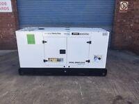 Generator, Electric Start Diesel 30Kva Silent Running NO VAT