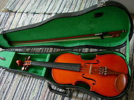 Stentor 1/2 size violin- good condition, great starter instrument/gift