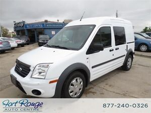 2011 Ford Transit Connect XLT w/Rear & Side Door Glass