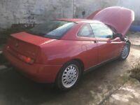 Alfa Romeo GTV Breaking
