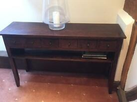 Sideboard/table with drawers