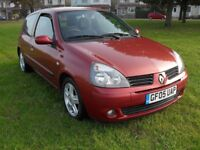 RENAULT CLIO EXTREME, 1.5 DIESEL, LOW MILES, £30 TAX, CAMBELT RENEWED, CHEAP INSURANCE.