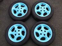 """Peugeot 106 GTI Raptor Alloy wheels 14"""" x 6J"""