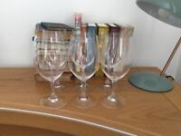 Set of 6 Riedel wine glasses