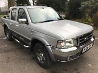 Unique 29000 Miles 2006 Ford Ranger Wildtrak 2-5 Double Cab Pick UP With Roll...