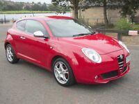 """2009 (59) Alfa Romeo Mito 1.4 16v Veloce 3dr Low Mileage """"38023""""mls"""