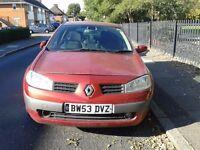 Renault Megane 2004 1.5 TDCi Spare or Repairs