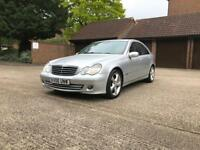 2006 Mercedes-Benz C220~1 OWNER~1 YEAR MOT~AUTO~FULL LEATHERS