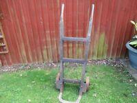 Vintage sack barrow/trolley