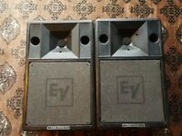 EV Electro Voice S200 Speaker system pair. Passive