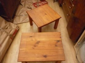 2 x Wood Coffee Tables