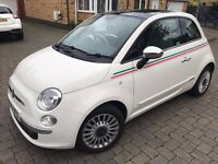 Fiat 500 1.2 Lounge 3dr (start/stop) Panoramic Roof 1 Previous Owner