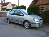 2001 RENAULT SCENIC DYNAMIQUE PLUS MPV 1.8 PETROL MANUAL - EXCELLENT CONDITION - ONLY 2 OWNERS