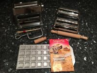 Imperia Pasta Maker Machine Set and Drying Stand