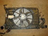 VW GOLF MK6 AUDI A3 SEAT LEON SKODA FABIA 1.6 TDI COMPLETE RADIATOR PACK WITH FAN 1K0121251DD 09-ON