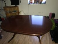 Dining Table with 6 Chairs (COLLECTION ONLY)