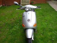 piaggio vespa et2 mot dec 2016 MAY SWAP,