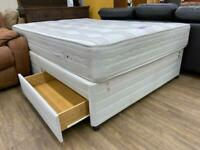 Double bed with 2 drawers