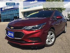 2016 Chevrolet Cruze LT2 | ALLOYS | BACK CAM | BLIND SPOT | ONE