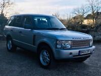 RANGE ROVER VOGUE (2004 - 04 REG) '2.9 TD6 - 177 BHP - AUTO - LEATHER - SAT NAV' (NO VAT - SAVE 20%)