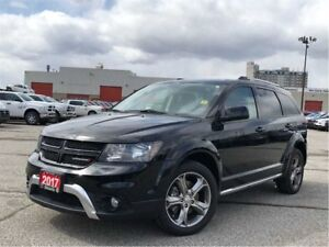 2017 Dodge Journey CROSSROAD**AWD**LEATHER**DVD**7 PASSENGER