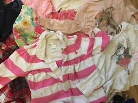 Baby girls bundle 6-9