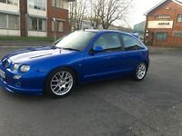 MG ZR 1.4 1.8 CONVERSION 12 MONTHS MOT FULL SERVICE HISTORY 2 KEYS FULL V5 AMAZING LITTLE CAR