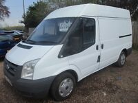 FORD TRANSIT 2007 57 2.2 LTR TDCI 1 YEAR MOT NO VAT!!! VERY CLEAN SOLID VAN!!!