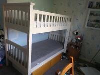 Marks & Spencer White Bunk Bed